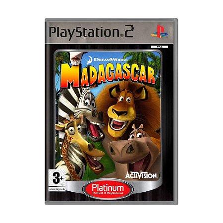 Jogo Madagascar - PS2 (Europeu)