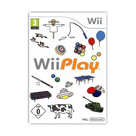 Jogo Wii Play - Wii (Europeu)