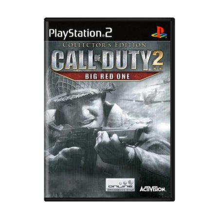 Jogo Call of Duty 2: Big Red One (Collector's Edition) - PS2