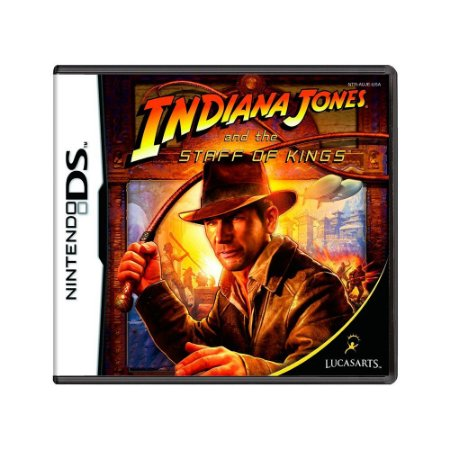 Jogo Indiana Jones and the Staff of Kings - DS