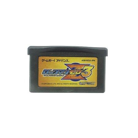 Jogo Mega Man Zero 3 - GBA (Japonês)