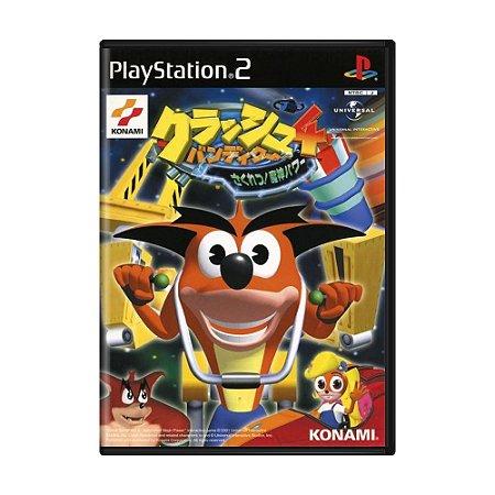 Jogo Crash Bandicoot 4: Sakuretsu! Majin Power - PS2 (Japonês)