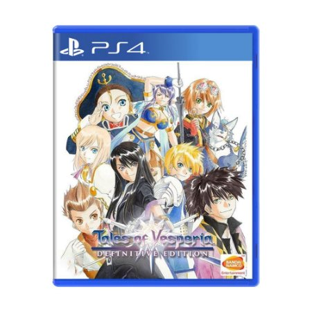 Jogo Tales of Vesperia (Definitive Edition) - PS4