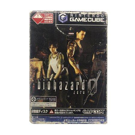 Jogo BioHazard Zero - GameCube (Japonês)