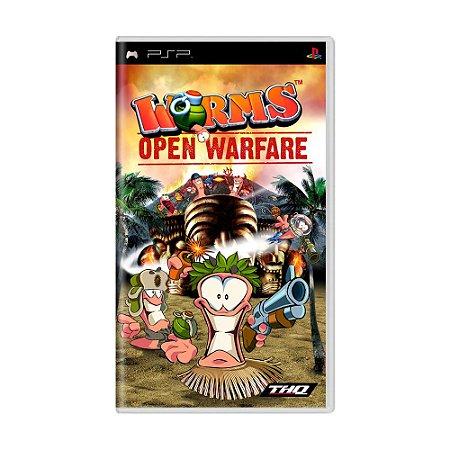 Jogo Worms: Open Warfare - PSP