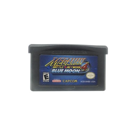 Jogo Mega Man Battle Network 4: Blue Moon - GBA
