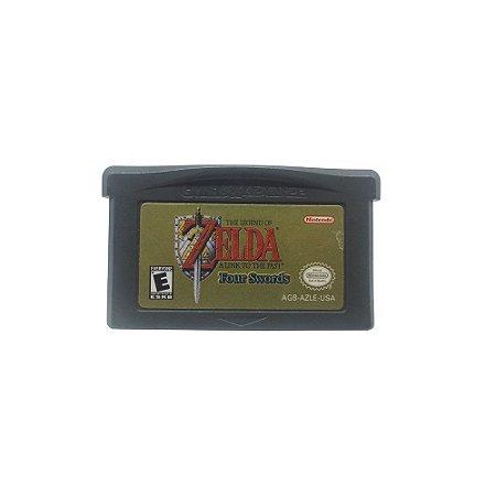 Jogo The Legend of Zelda: A Link to the Past - Four Swords - GBA