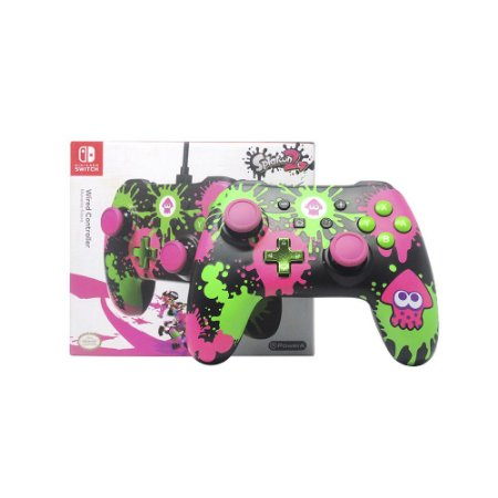 Controle Power A Wired Splatoon 2 - Nintendo Switch