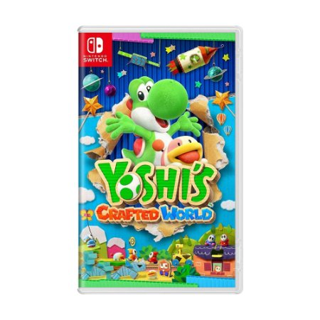 Jogo Yoshi's Crafted World - Switch
