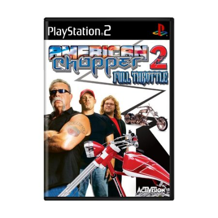 Jogo American Chopper 2: Full Throttle - PS2