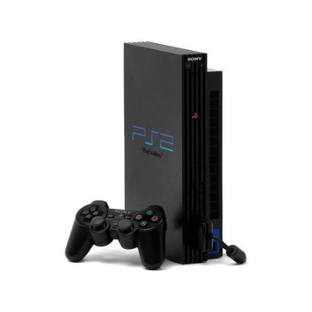 Console PlayStation 2 Fat Preto - Sony