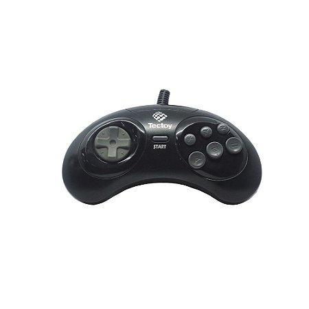Controle Mega Drive - Tec Toy