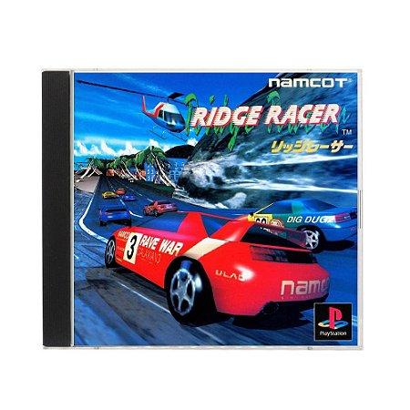 Jogo Ridge Racer - PS1 (Japonês)