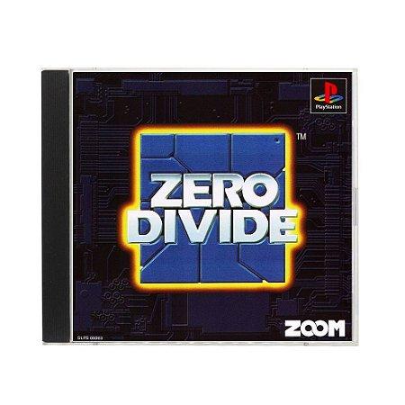 Jogo Zero Divide - PS1 (Japonês)
