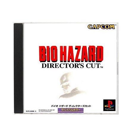 Jogo BioHazard: Director's Cut - PS1 (Japonês)