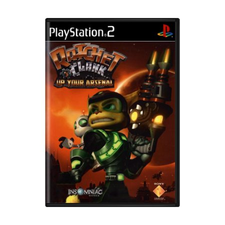 Jogo Ratchet & Clank: Up Your Arsenal - PS2
