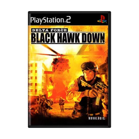 Jogo Delta Force: Black Hawk Down - PS2