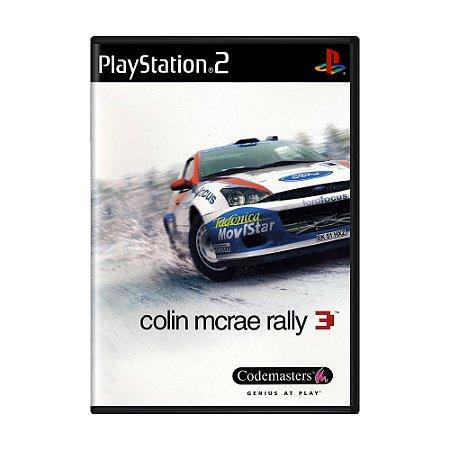 Jogo Colin McRae Rally 3 - PS2
