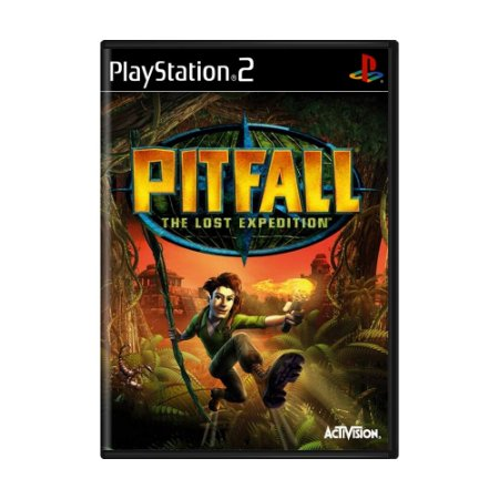 Jogo Pitfall: The Lost Expedition - PS2