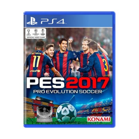 Jogo Pro Evolution Soccer 2017 - PS4