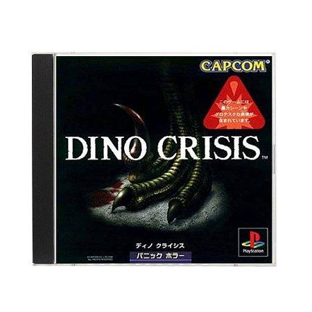 Jogo Dino Crisis - PS1 (Japonês)