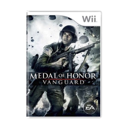 Jogo Medal of Honor: Vanguard - Wii