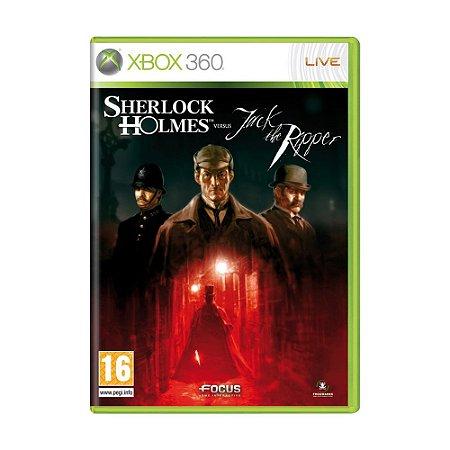 Jogo Sherlock Holmes vs. Jack the Ripper - Xbox 360 (Europeu)