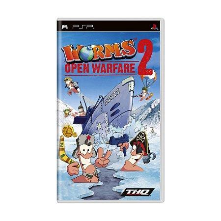 Jogo Worms: Open Warfare 2 - PSP