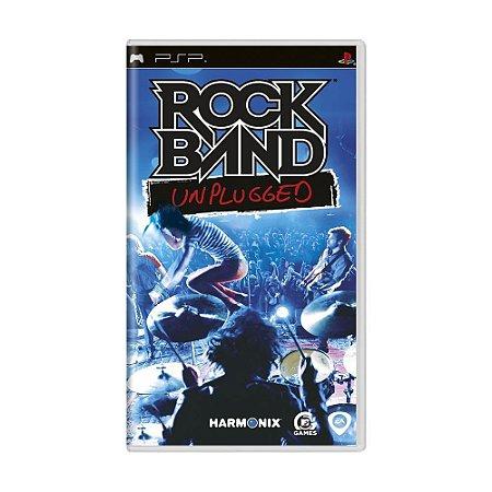 Jogo Rock Band Unplugged - PSP