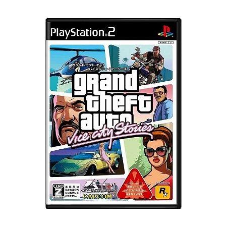 Jogo Grand Theft Auto: Vice City Stories - PS2 (Japonês)