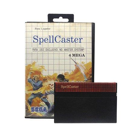 Jogo SpellCaster - Master System
