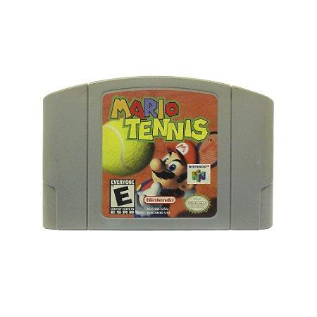 Jogo Mario Tennis - N64