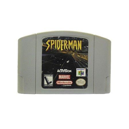 Jogo Spider-Man - N64