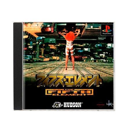 Jogo The Fifth Element - PS1 (Japonês)