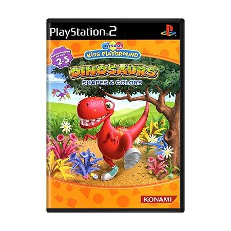 Jogo Konami Kids Playground: Dinosaurs Shapes & Colors - PS2