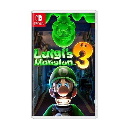 Jogo Luigi's Mansion 3 - Switch