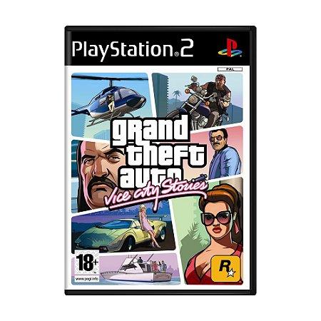 Jogo Grand Theft Auto: Vice City Stories - PS2 (Europeu)