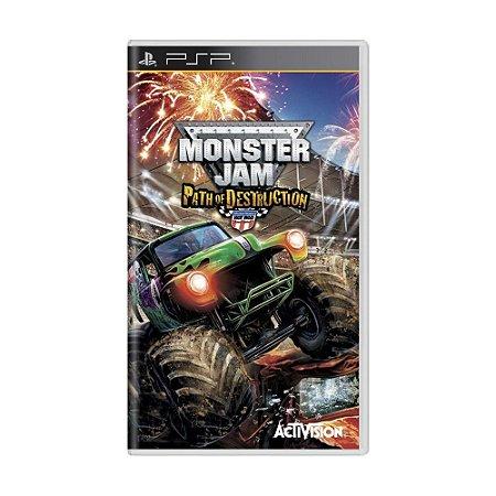 Jogo Monster Jam: Path of Destruction - PSP
