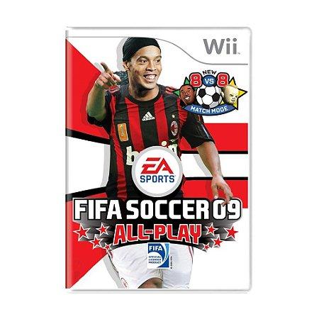 Jogo FIFA Soccer 09 All-Play - Wii