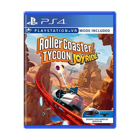 Jogo RollerCoaster Tycoon Joyride - PS4