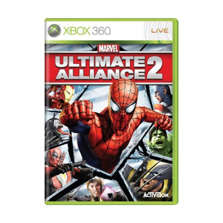 Jogo Marvel Ultimate Alliance 2 - Xbox 360