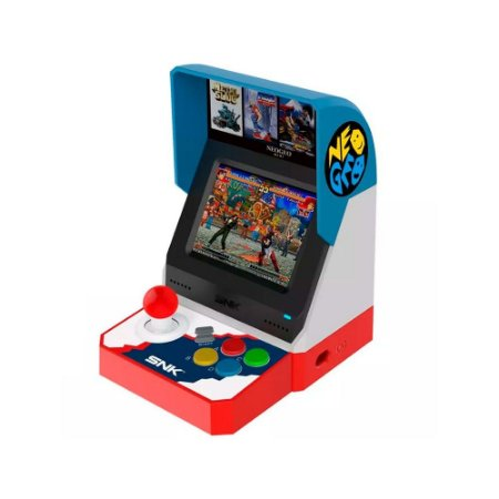 Console Neo Geo Arcade Mini International C/ 40 Jogos - SNK