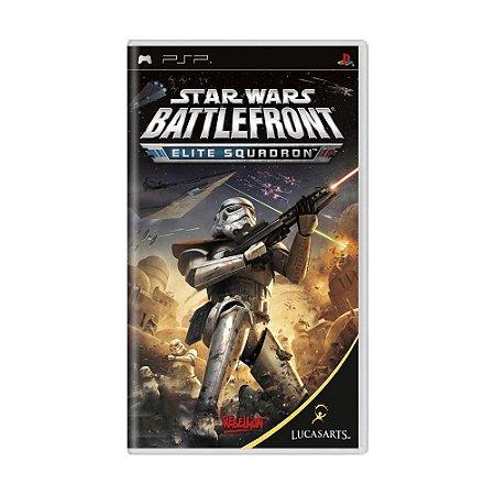 Jogo Star Wars Battlefront: Elite Squadron - PSP