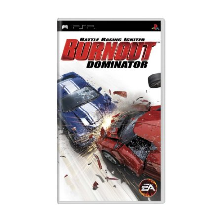 Jogo Burnout Dominator - PSP