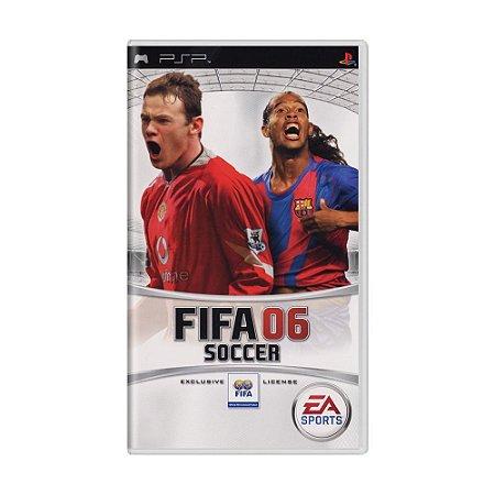 Jogo FIFA Soccer 06 - PSP
