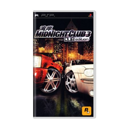 Jogo Midnight Club 3: DUB Edition - PSP