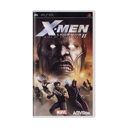 Jogo X-Men Legends II: Rise of Apocalypse - PSP