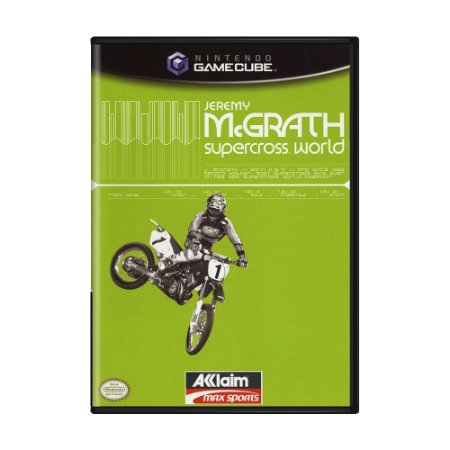 Jogo Jeremy McGrath Supercross World - GameCube