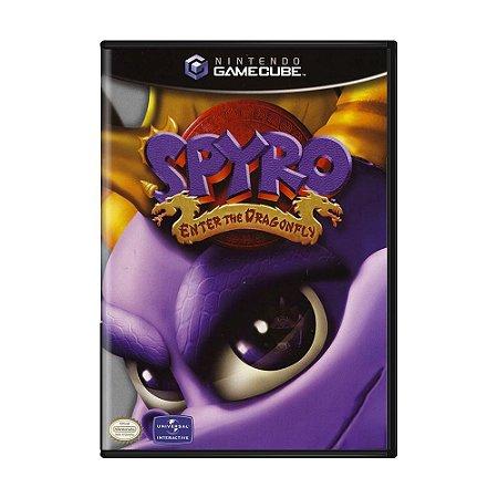 Jogo Spyro: Enter the Dragonfly - GameCube