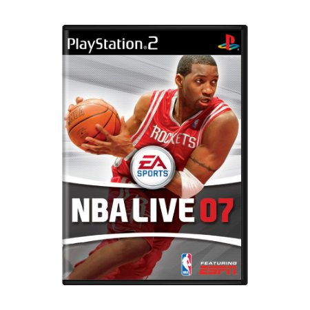 Jogo NBA Live 07 - PS2